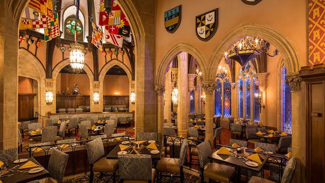 Magic Kingdom 2020 Halloween Hollywood Studios Cinderella's Royal Table Walt Disney World Resort