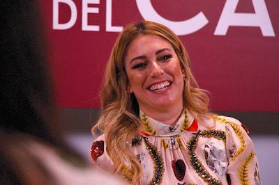 Blanca Suárez en la presentación de la última temporada de Las chicas del cable.