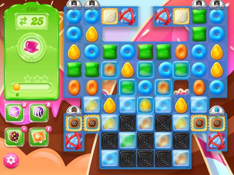 Candy Crush Jelly Saga level 606
