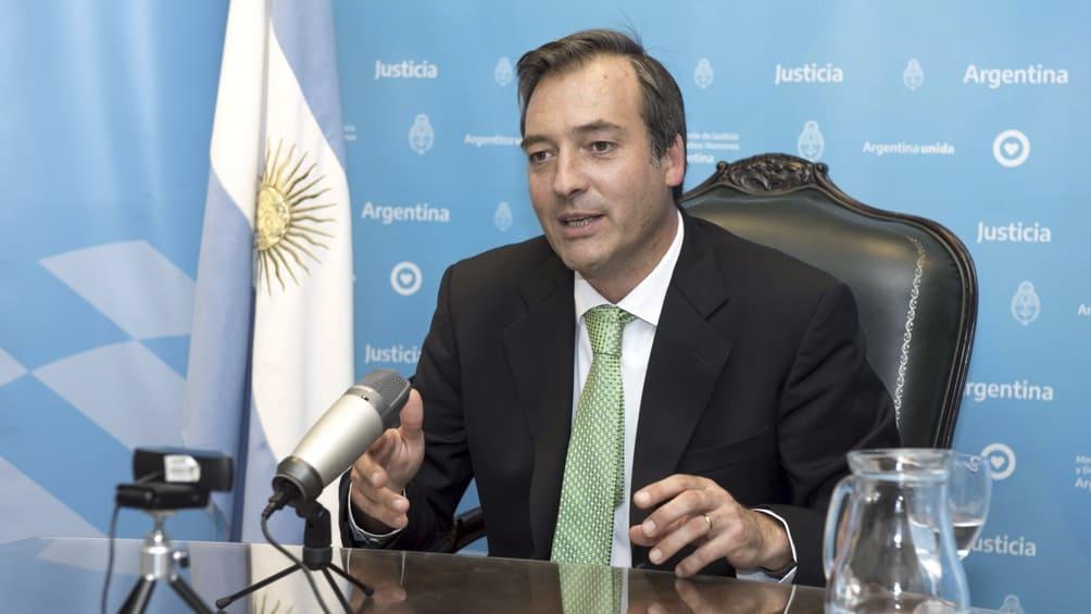 MARTIN SORIA MINISTRO DE JUSTICIA