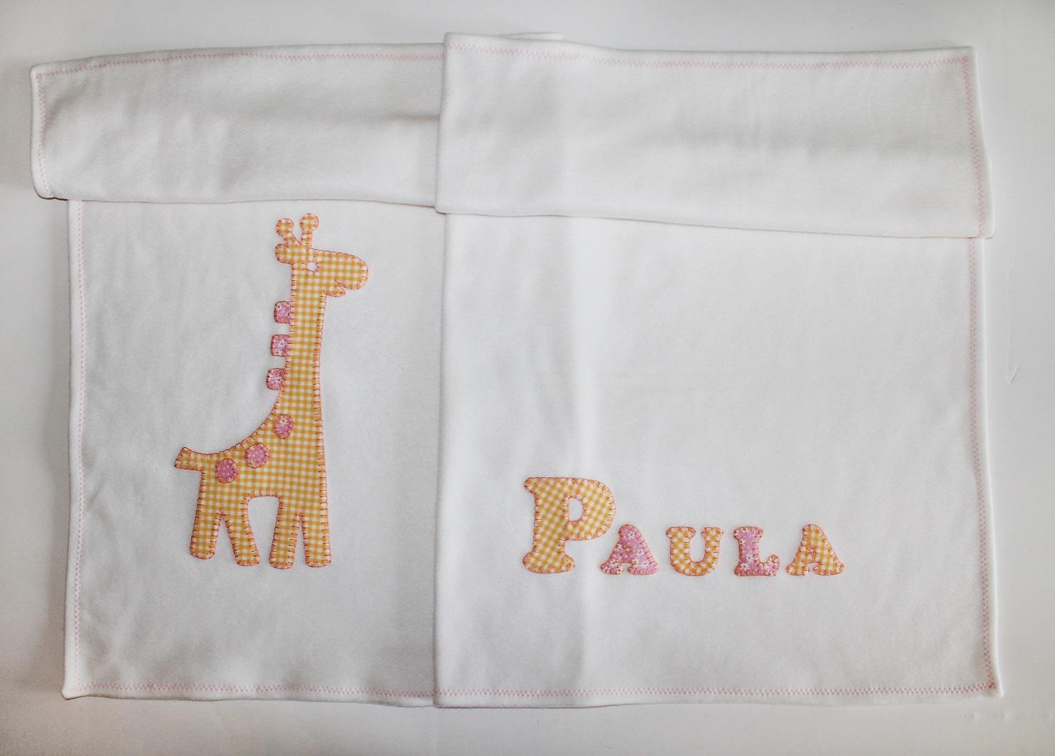 cocodrilova: manta bebe jirafa