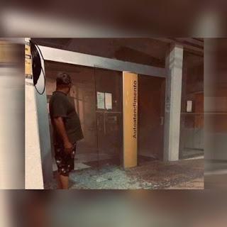 Bandidos explodem cofre e caixa eletrônica de agência do Banco do Brasil na Paraíba