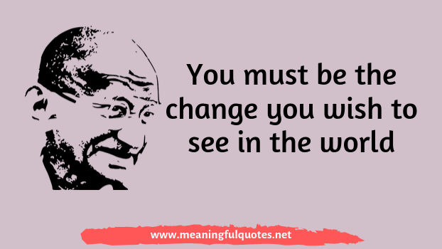 Mahatma Gandhi quotes and sms