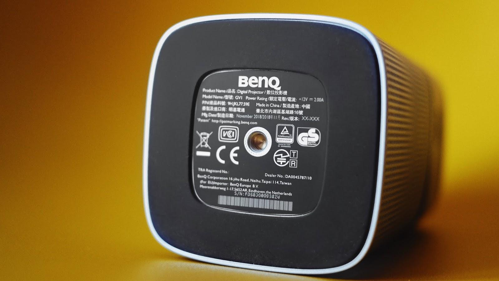 BenQ GV-1 Schraubgewinde