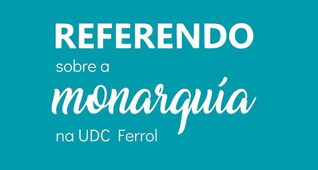 El Campus de Ferrol de la Universidad de La Coruña a favor de instaurar la República