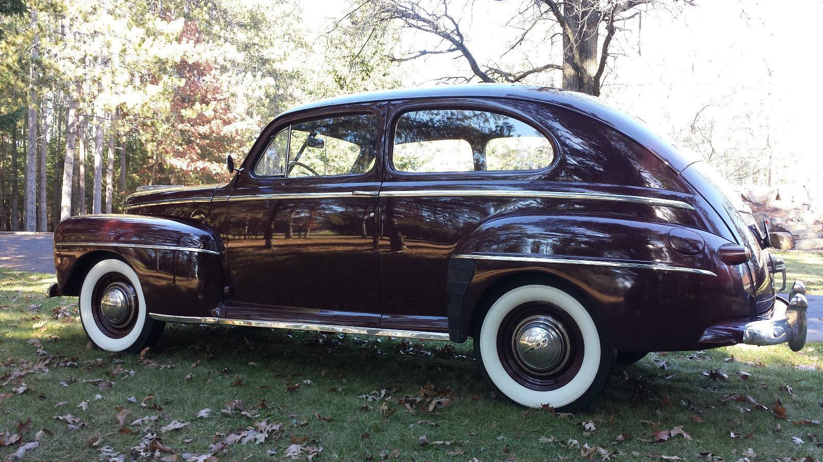 All American Classic Cars 1948 Ford Deluxe Tudor 2 Door Sedan