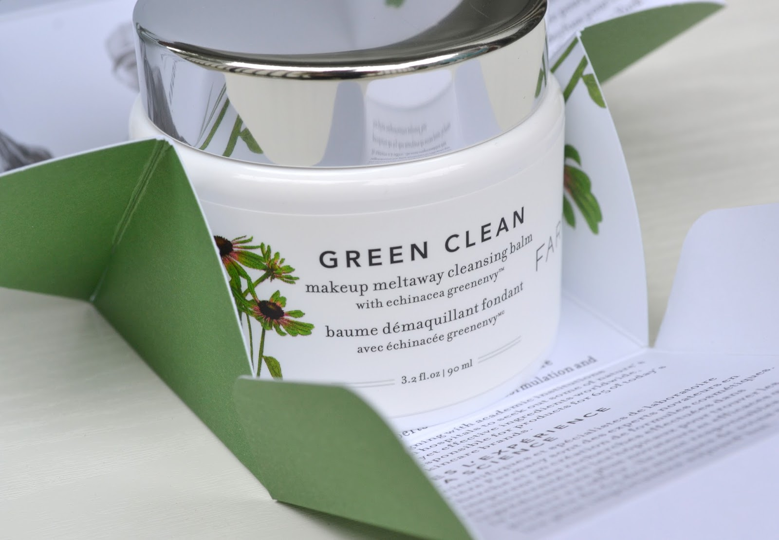 Green Clean Makeup Meltaway Cleansing Balm with Echinacea by farmacy #5