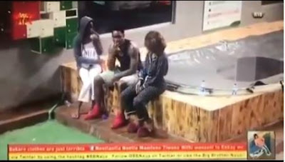 """#BBNaija: """"Please Don't Leave, I Might Be More Aggressive"""" - Mercy Begs Ike (VIDEO)"""