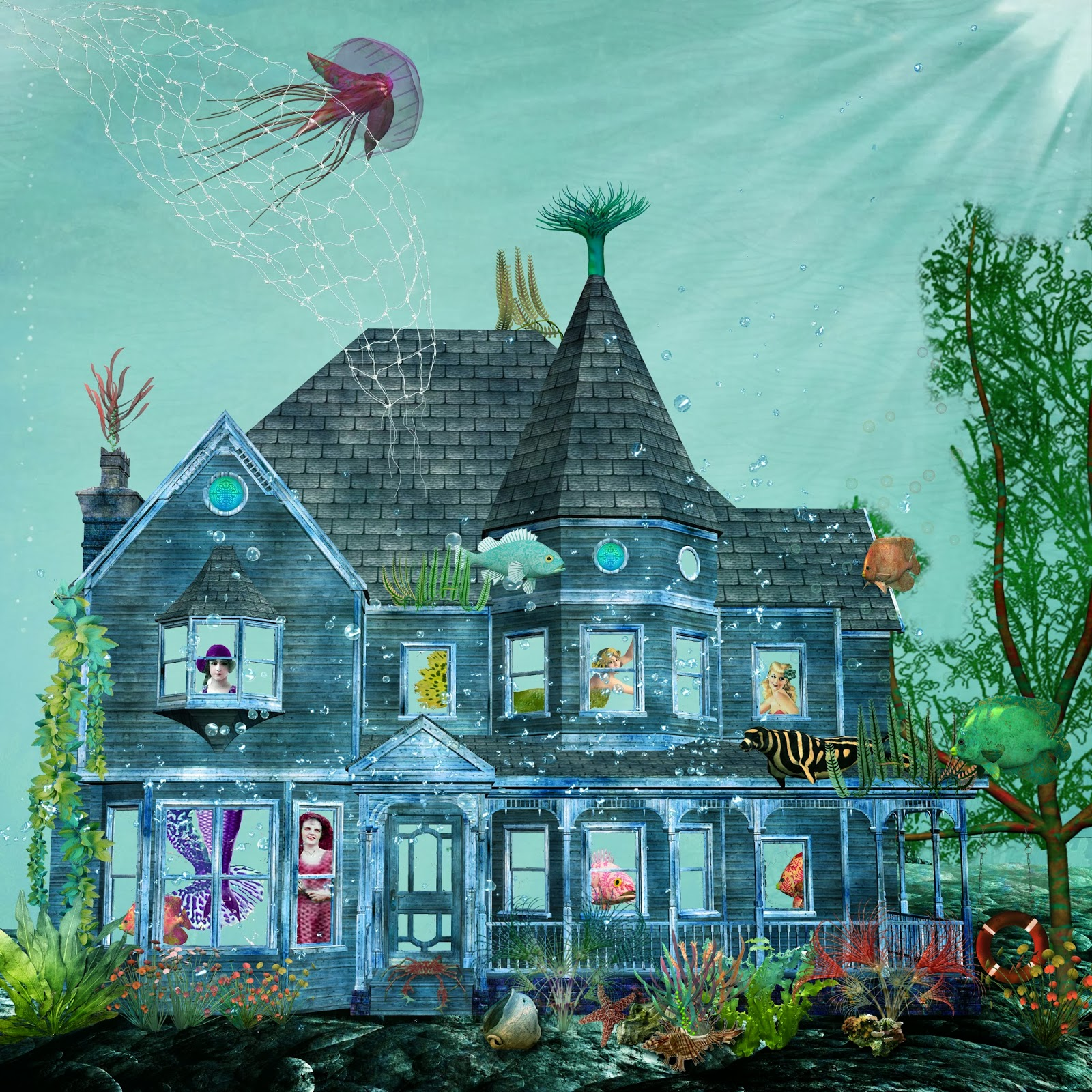 Misplaced Mermaid Inspiration Avenue Challenge Houses