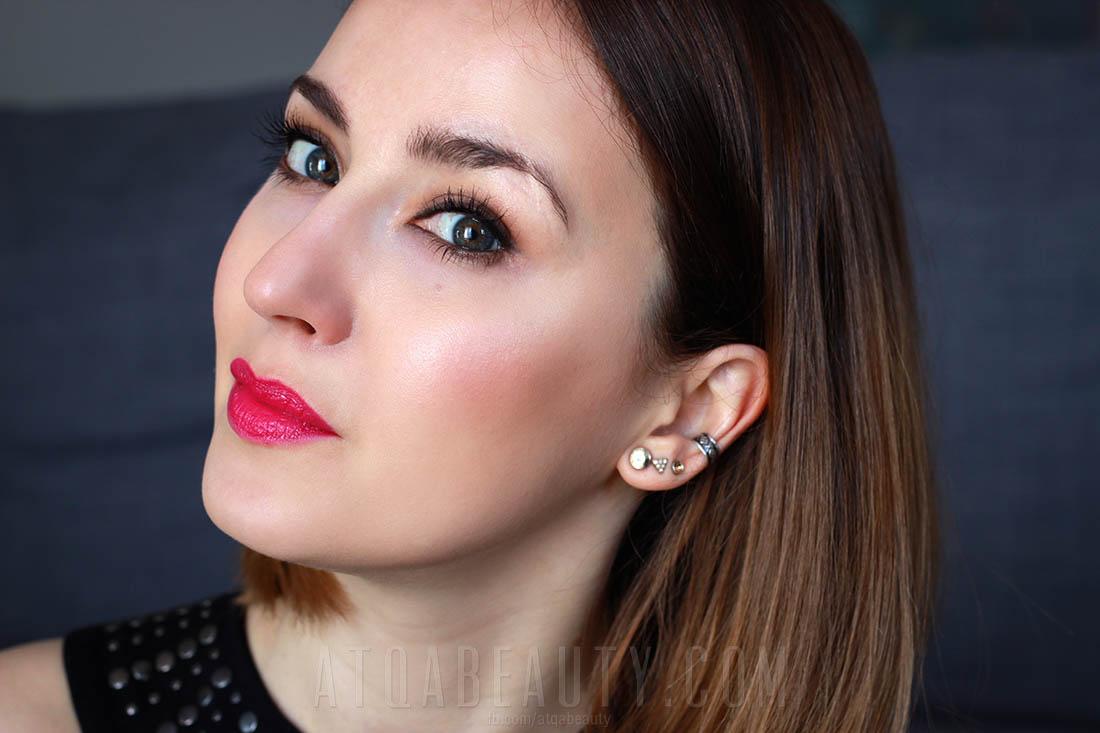 Makijaż :: Fuksja na lato <br>(Dr Irena Eris ProVoke Bright Lipstick  511 Harsh Fuchsia <br>– makijaż i garść minirecenzji)