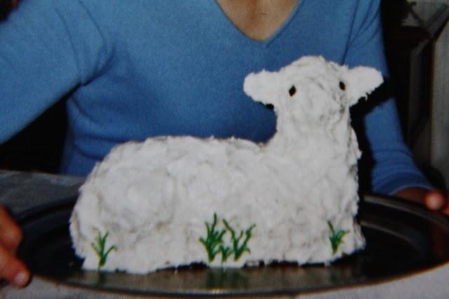 Cast Iron Lamb Cake Pan