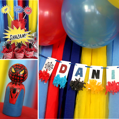 A SpiderMan Inspired 5th Birthday Party