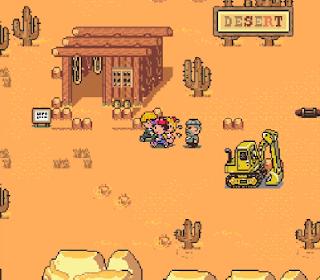 Earthbound - Desierto