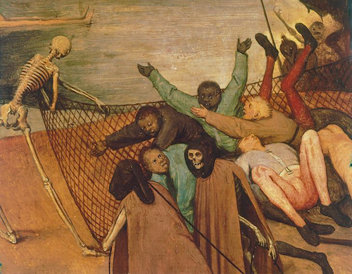 Pieter Brueghel the Elder, The Triumph of Death (detail), c.1562