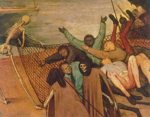 Pieter Brueghel the Elder, The Triumph of Death (detail), c.1562