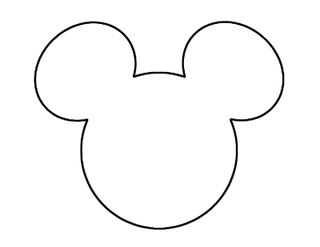 mickey mouse head shape template momaye 39 s diary do it yourself the invitation