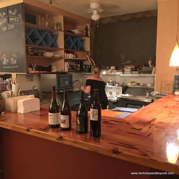 bar at A Grape in the Fog at Rockaway Beach in Pacifica, California