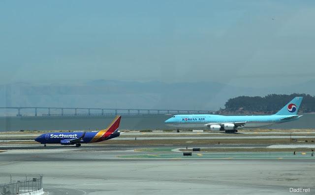 Mouvements d'avions à l'aéroport de San-Francisco