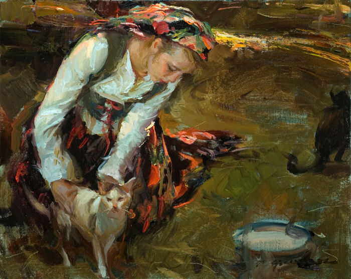 Daniel F. Gerhartz 1965 | American Figurative painter | New !