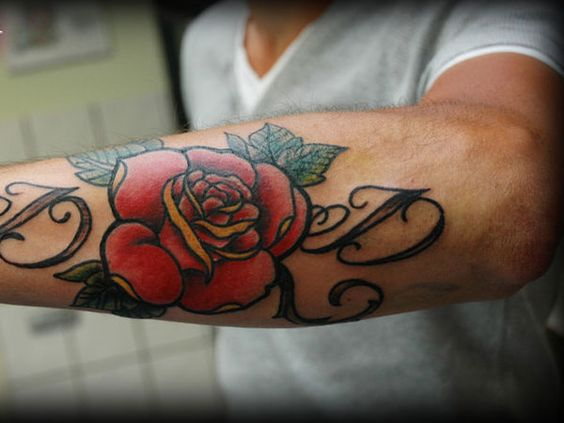 Super Cool Forearm Tattoos For Men
