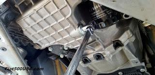Removing Stelvio Drain Plug