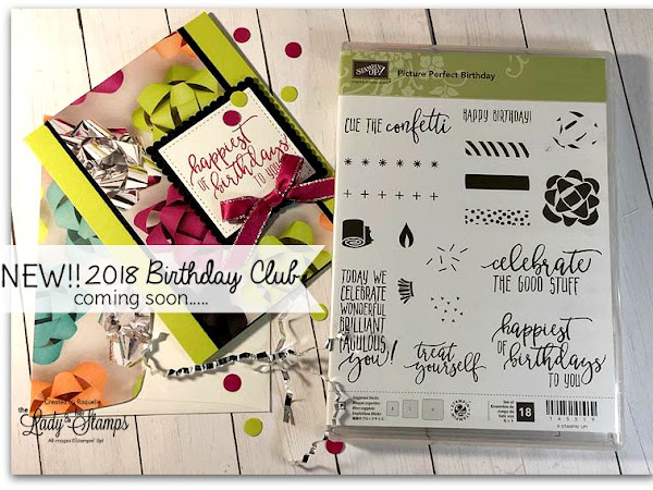 New In 2018 - Birthday Card Club!