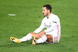 Zinedine Zidane Tak Tahu Kapan Eden Hazard Bakal Main Lagi untuk Real Madrid
