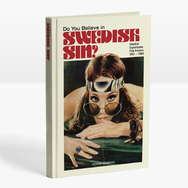 'Do You Believe in Swedish Sin?', libro de pósters de películas de explotación suecas