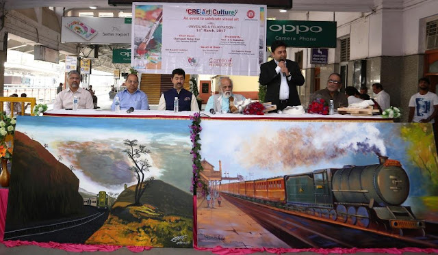 Kokuyo Camlin joins hands with Central Railway to beautify Pune Railway Station