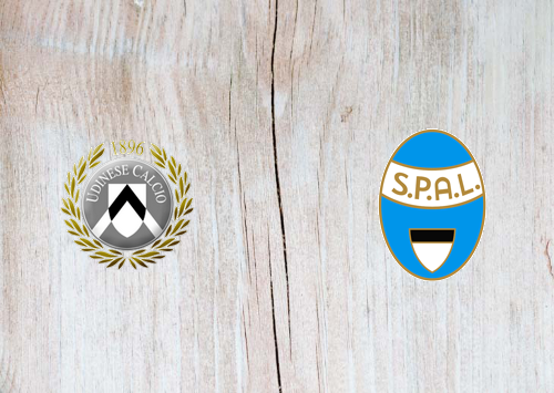 Udinese vs SPAL -Highlights 10 November 2019