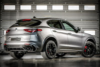 Alfa Romeo Stelvio Quadrifoglio NRING (2018) Rear Side