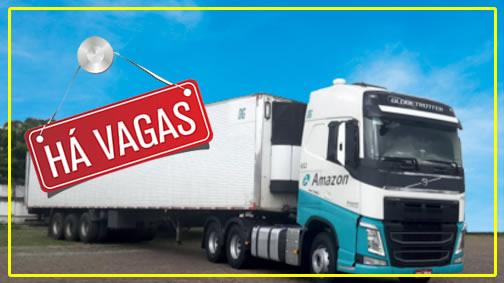 Amazon Transportes está contratando Motorista