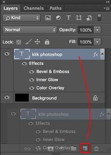 cara membuat tulisan plastik mengkilap dengan photoshop