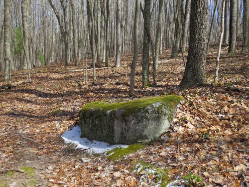 glacial erratic boulder
