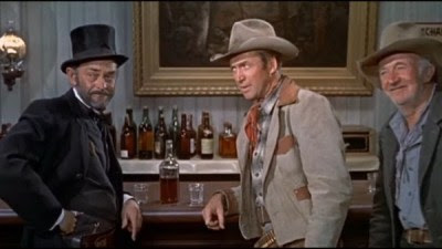 The Far Country - James Stewart, John McIntire, and Walter Brennan