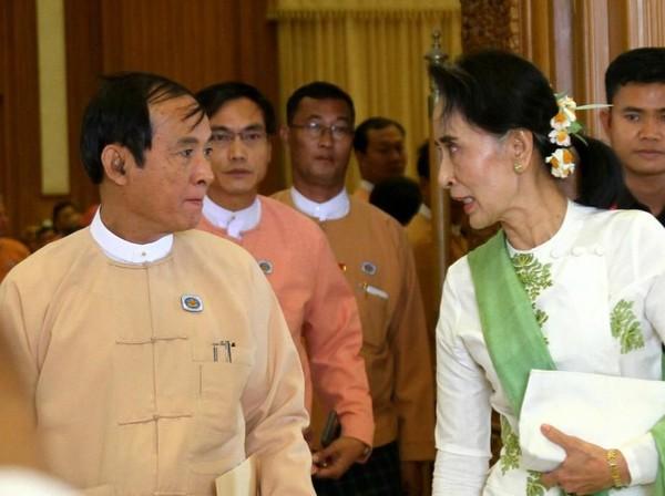 Selain Aung San Suu Kyi, Presiden Win Myint Juga Ditahan Militer Myanmar