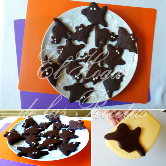 Galletas de Chocolate para Halloween