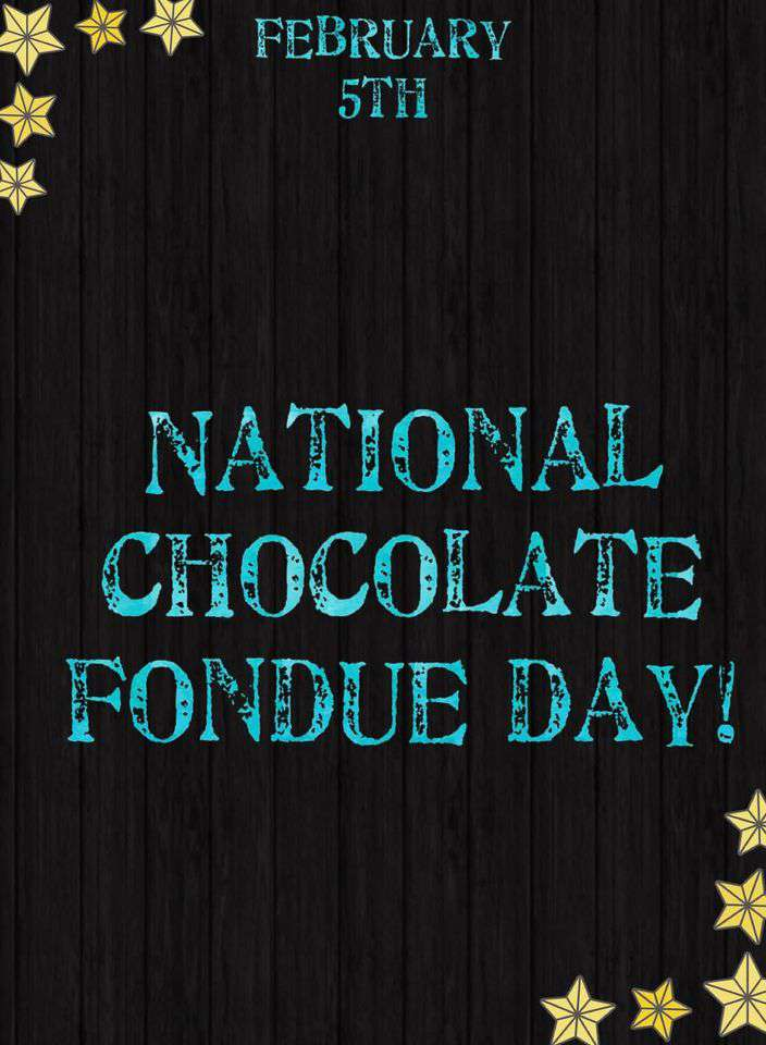 National Chocolate Fondue Day Wishes for Instagram