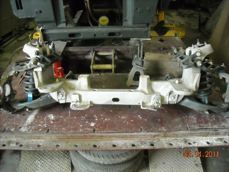Crown Victoria Front Suspension Swap