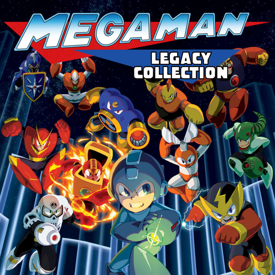 Mega Man Legacy Collection ESPAÑOL PC Full Cover Caratula