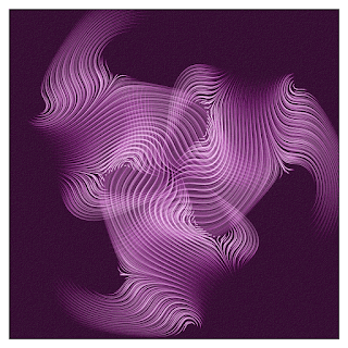 Symmetrical Vector Field drawing.