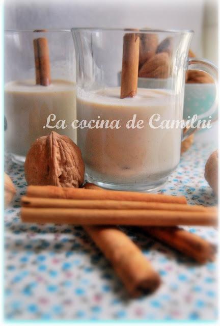 Ponche de nuez sin alcohol (La cocina de Camilni)