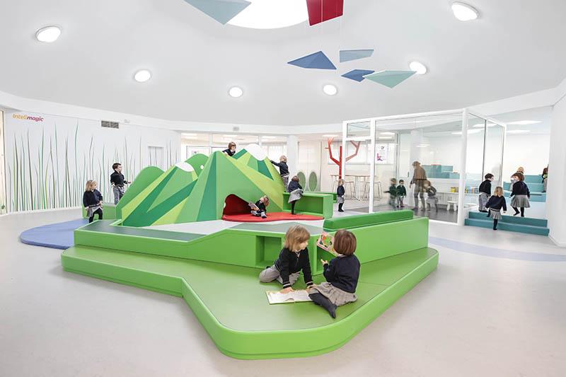 Un jardín de infantes español asombroso   Más Chicos