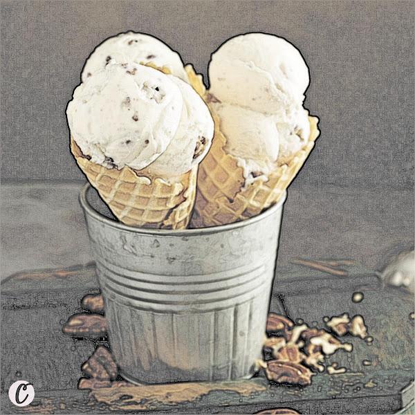 Butter Pecan Ice Cream 🍨