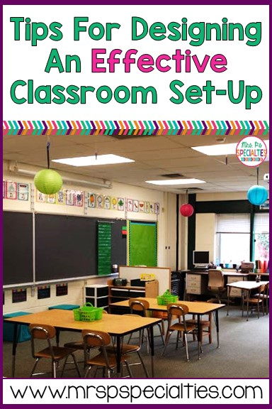 Designing an effective classroom set up is important because it can help increase attention to task, decrease behaviors and create a natural flow. Many times, are students are highly distractable. There are things we can do to the classroom environment to make it EASIER for them to attend, self-regulate and learn.