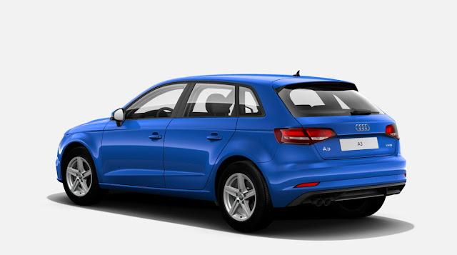 Audi A3 com 1.0 de Up! TSI chega ao Uruguai  a R$ 163 mil