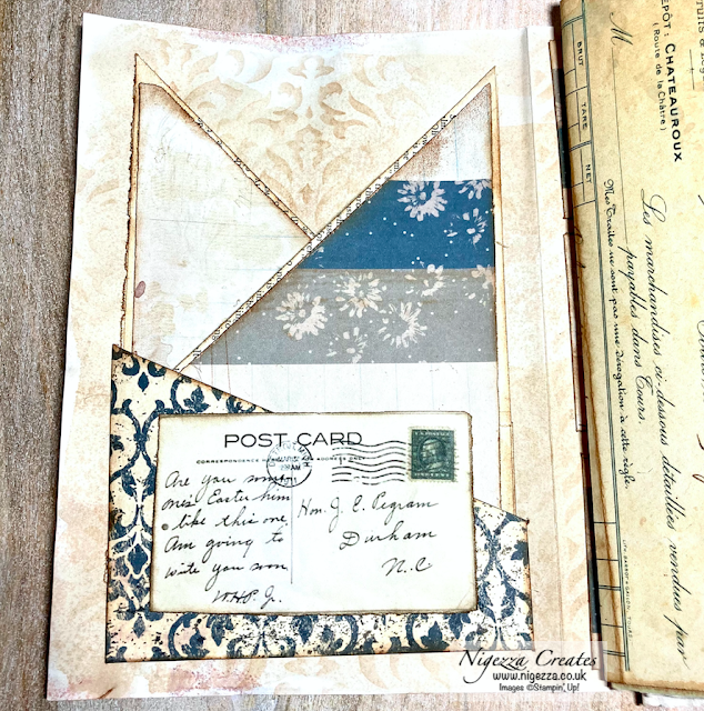 Quick Easy Diagonal Book Page Pockets For Your Junk Journal