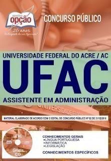 Download Apostila Concurso UFAC 2019 PDF