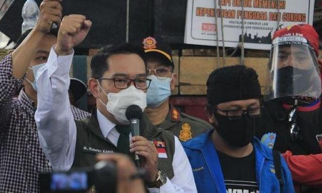 Ridwan Kamil: Jokowi Minta Gubernur hingga TNI dan Polri Sosialisasi Omnibus Law
