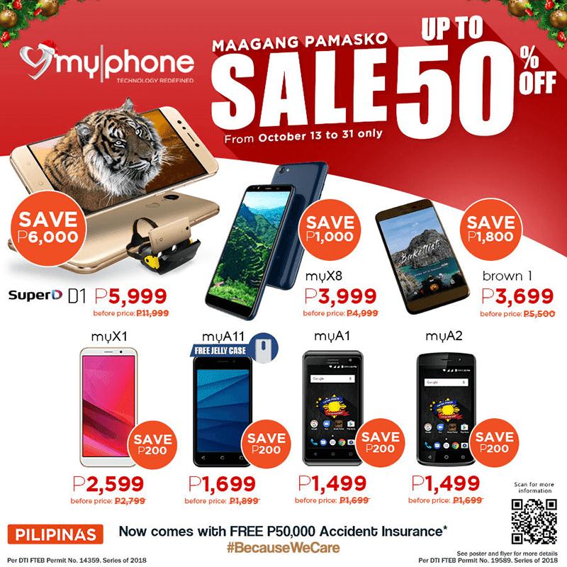 Sale Alert: MyPhone announces up 50 percent off promo on select smartphones!